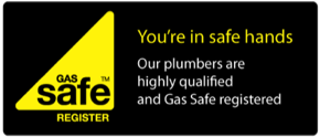 Devon heat plumbers Gas Safe Registered Logo
